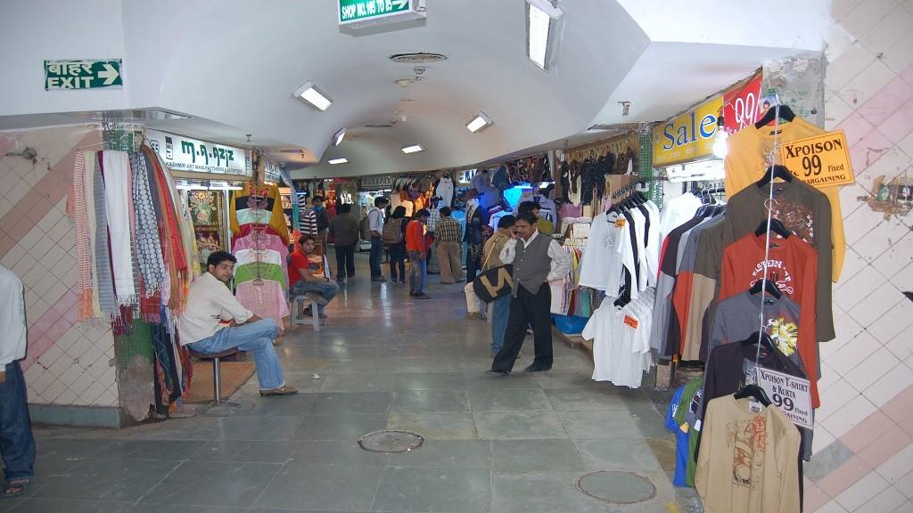 Palika Bazaar, New Delhi