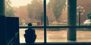View-from-inside-the-Dr-Zakir-Husain-Library-10-Sept-2014-Farhana-Farid-M.A.Human-Rights