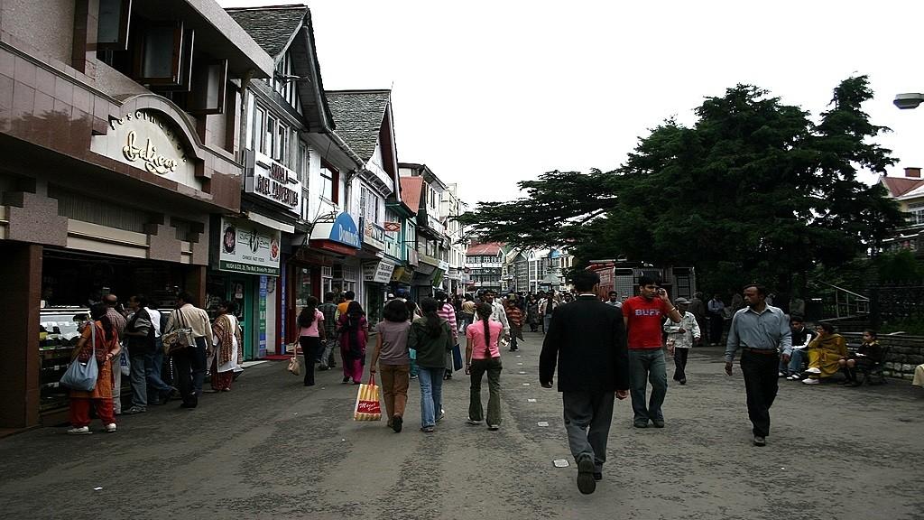 mallroad-simla-popular-markets-india