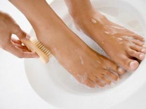 rửa chân