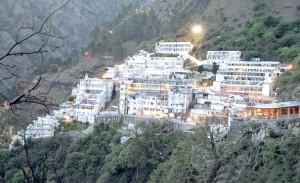 Vaishno Devi's Darbar, Jammu and Kashmir, india. PHOTO CREDIT: INDIAPICTURE.IN