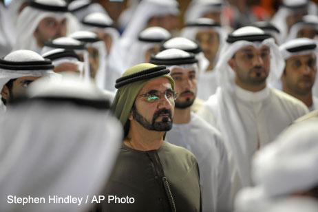 Mideast Emirates Dubai World Cup Horse Race