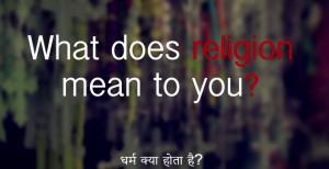 Kids speak on religion
