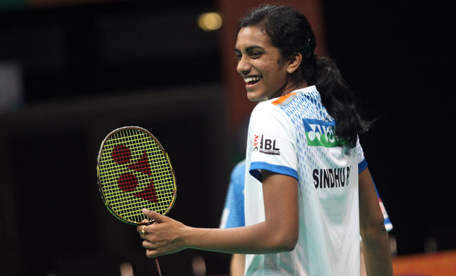 PV Sindhu. India's ray of hope for medal.