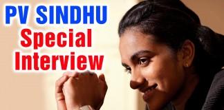 Watch Badminton Star PV Sindhu candid Interview.