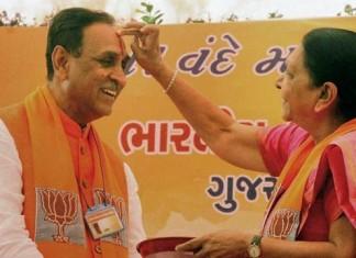 Nitin Patel out of Gujarat CM race,Vijay Rupani holds it.
