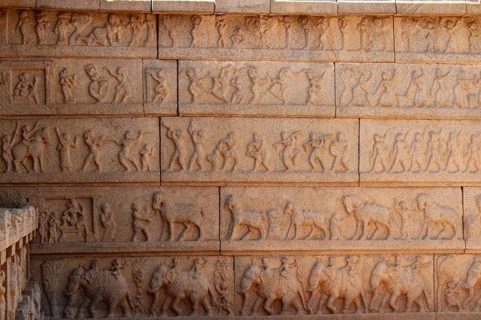Hazararama Temple - hampi