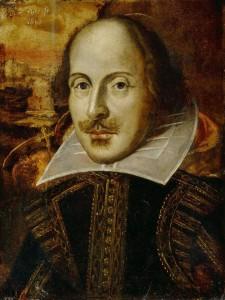 The Droeshout portrait