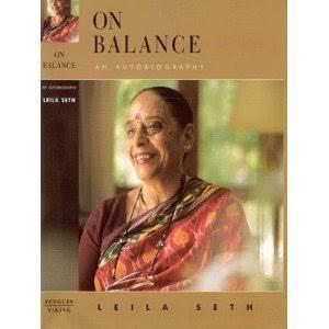 Autobiography of Leila Seth