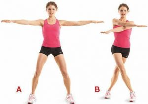 Scissors Exercises To Lose Arm Fat