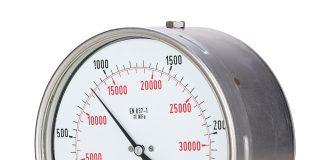 Hydrostatic pressure gauge
