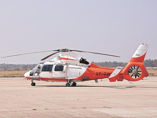 Bengaluru's first Heli-Taxi