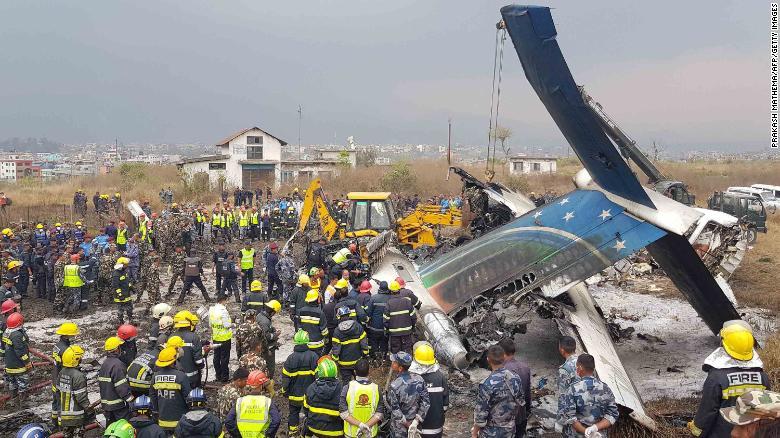 Nepali rescuers