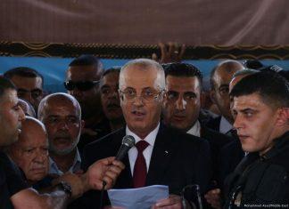 Palestine PM Rami Hamdallah