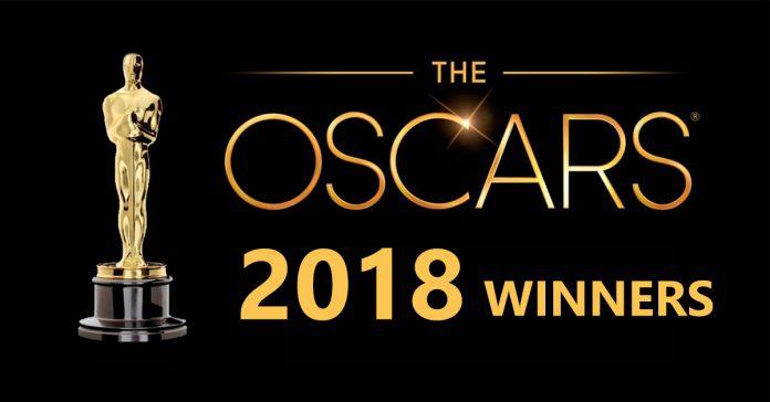 Oscar Award Winners for 2018