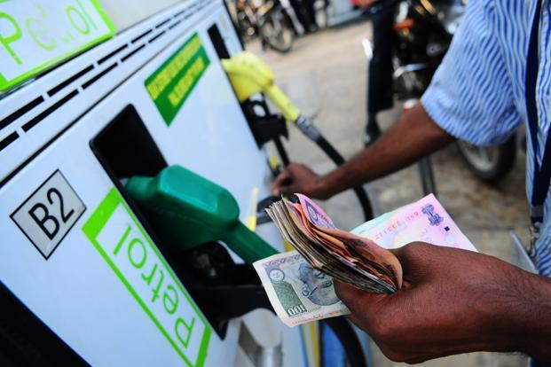 Increase of petrol price in India