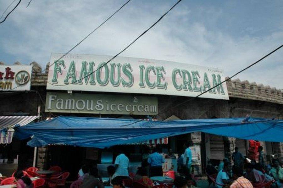 Famous Ice Cream parlour