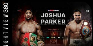 Joseph vs Parker Boxing Match