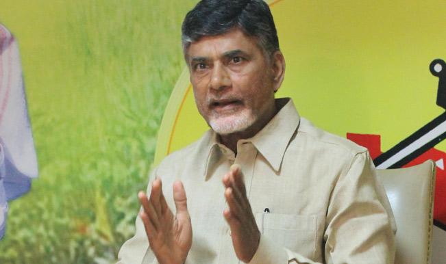 Andra CM Chandrababu Naidu