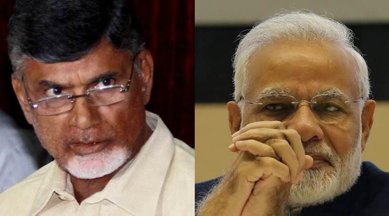 Naidu Tried calling Modi