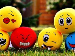 depressed happy and sad emoji