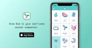Aloe bud app - Self-care apps