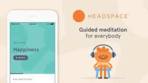 Headspace app - Self-care apps